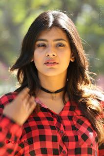 Actress Hebah Patel Stills in Blue Denim Jeans at Nanna Nenu Naa Boyfriends Movie Success Meet  0003.JPG