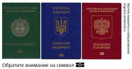 Биометрические паспорта разных стран