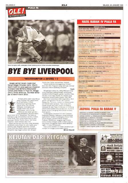 FA CUP BYE BYE LIVERPOOL