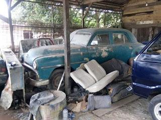 Mobil Tua Dan Langka : Forsale Playmouth 1956