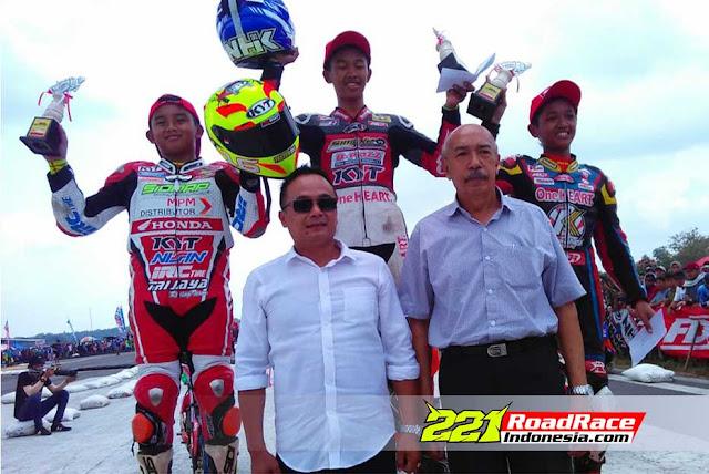 Motoprix Yogyakarta 2016, 3 Penunggang Honda Sonic Digdaya di Kelas MP5