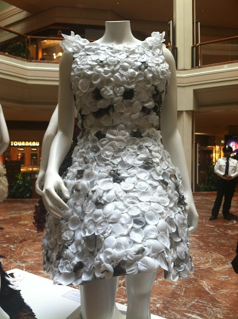 Boston Fashion Week and what to do with your leftover coffee filters
