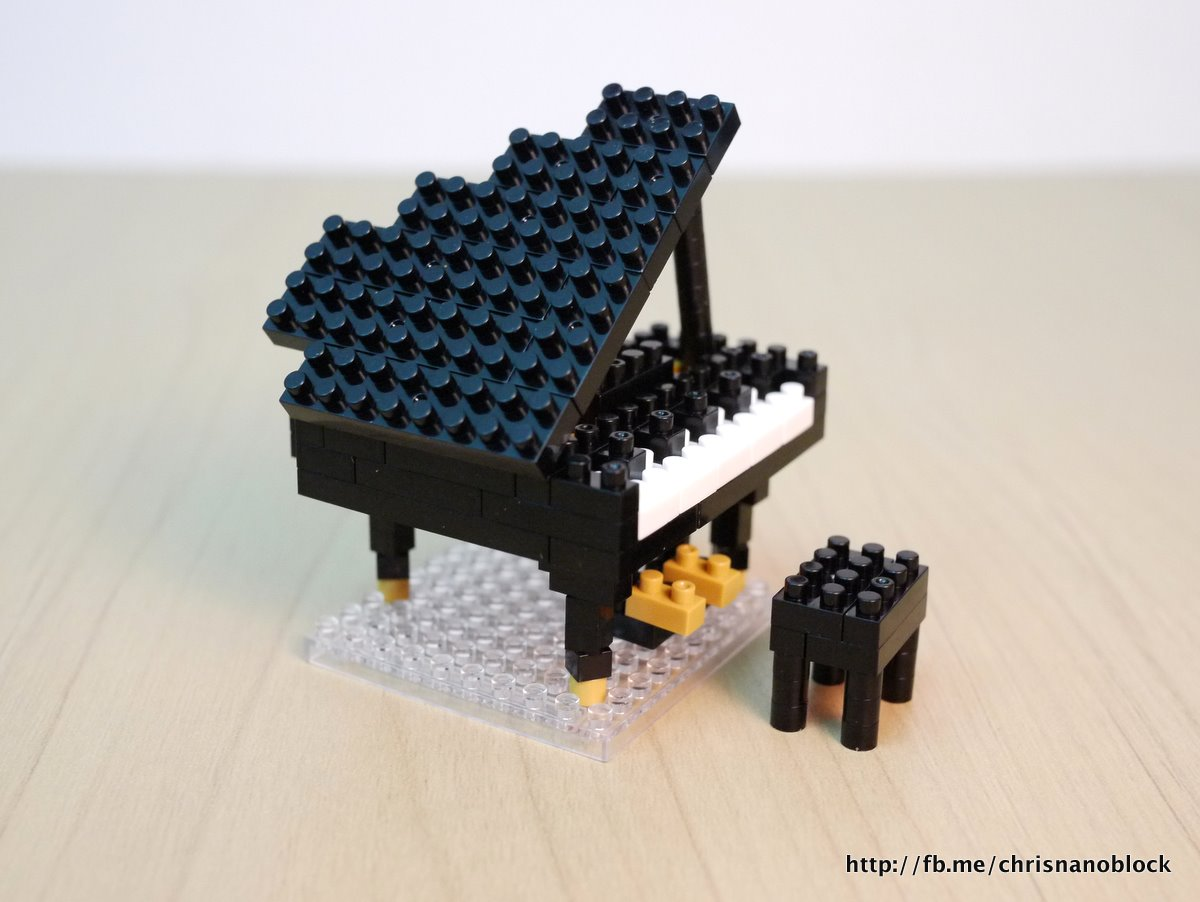 Christopher Tan Nanoblock Grand Piano Review