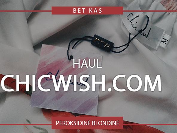 CHICWISH.COM HAUL