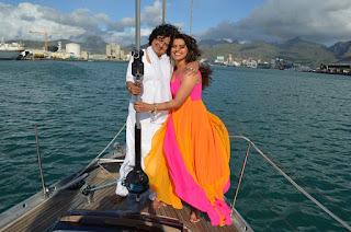 Madhu Sharma with mother