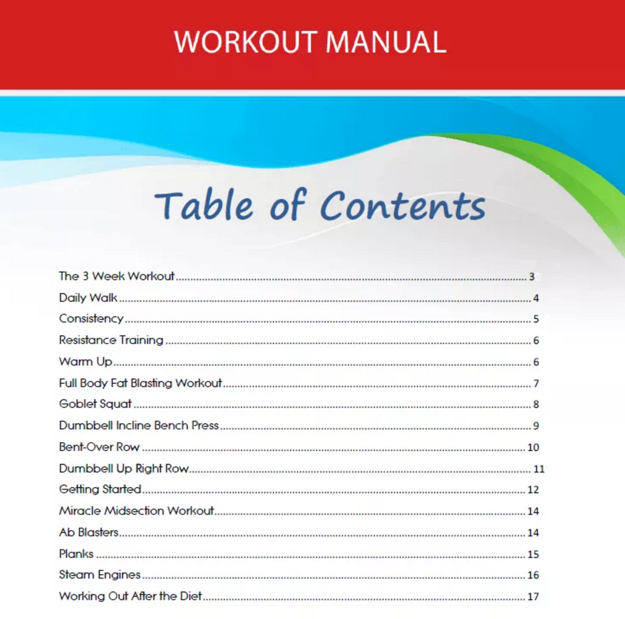 Workout Manual: Diet manual itself gives amazing result and this workout  manual really doubles the result. It is specially designed for those people  who ...