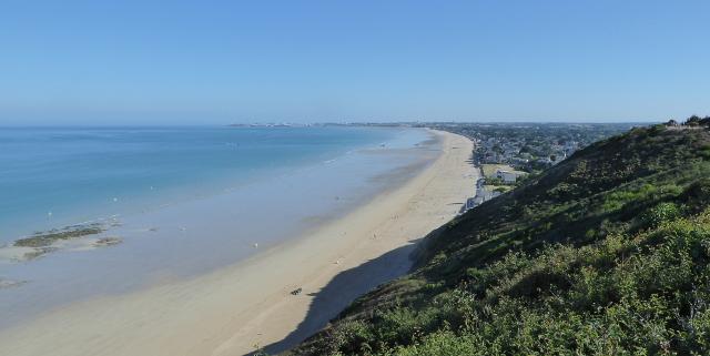 La platja de Carolles