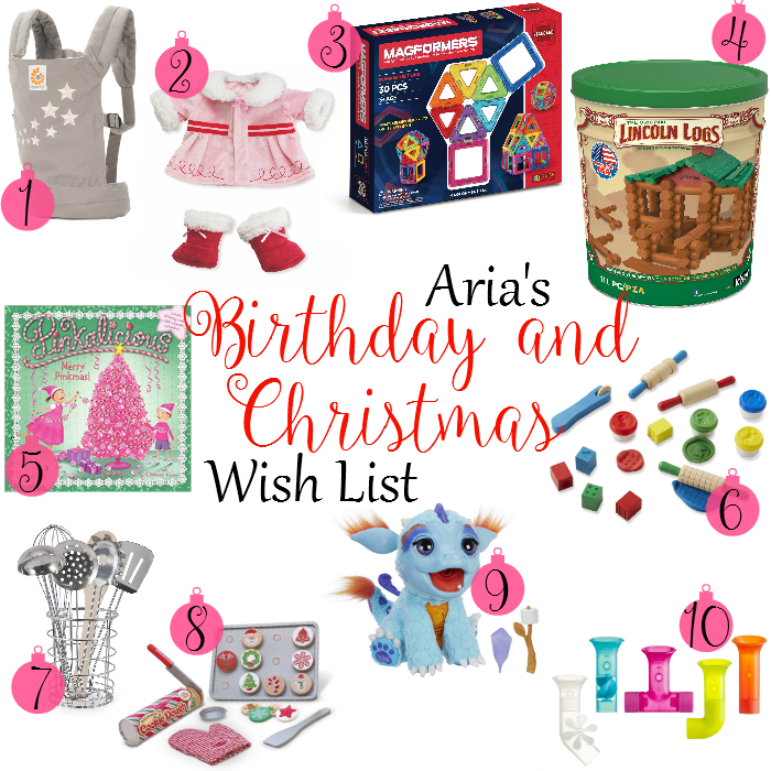 Children's Christmas Wish List Ideas