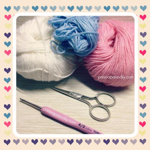 cómo tejer un granny romático al crochet