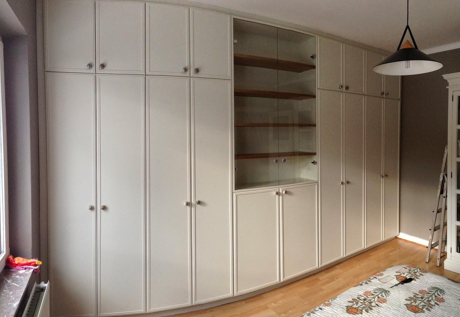 lj woodworks placard dressing en m lamin ch ne clair int rieur et mdf pr peint ext rieur. Black Bedroom Furniture Sets. Home Design Ideas
