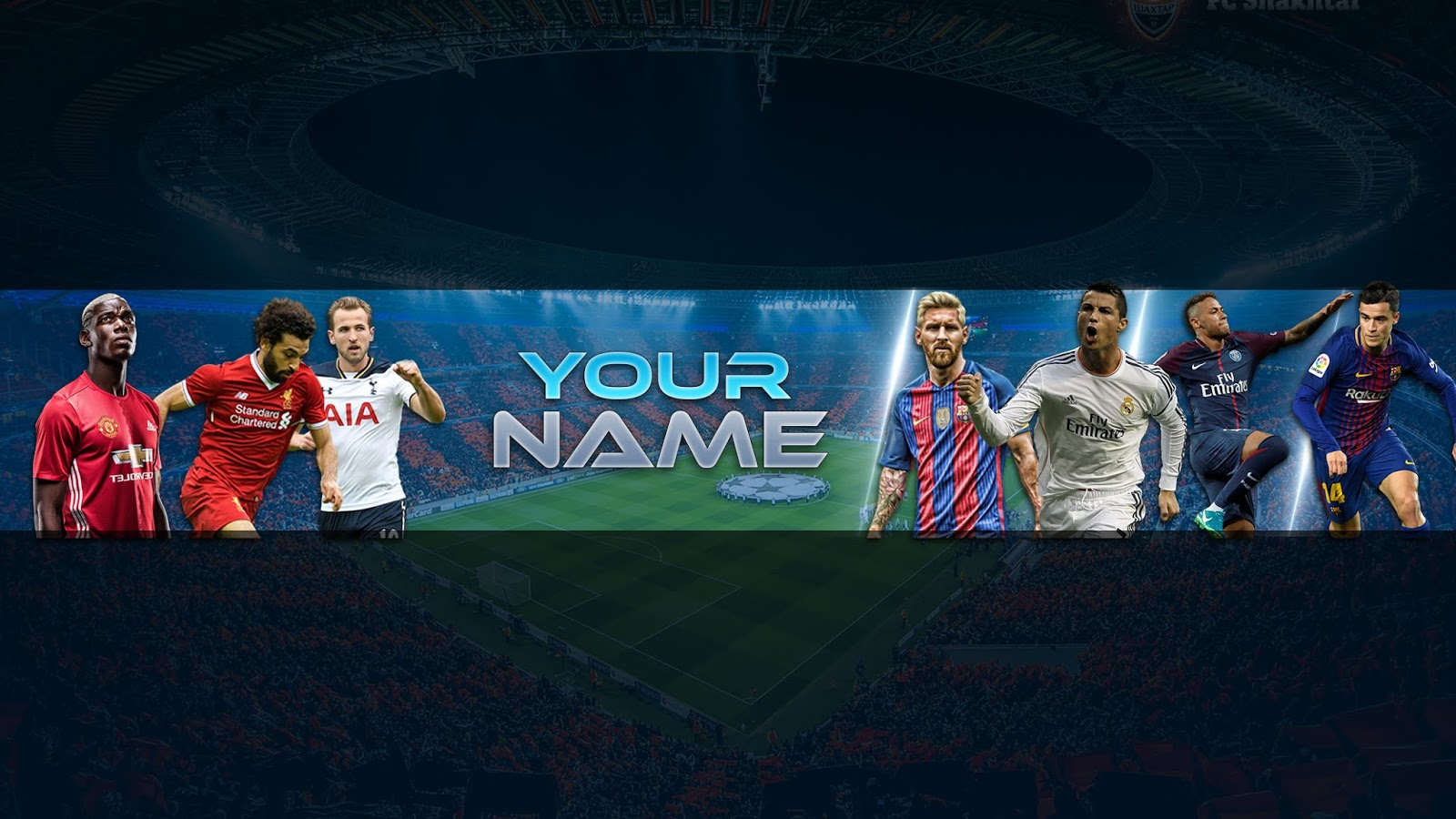 ZUHAIR BALOCH: FREE Football Banner Template For YouTube