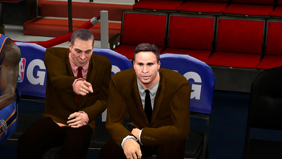 NBA 2K14 Coach Scott Brooks Face Mod