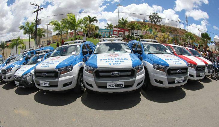 Governo da Bahia entrega mais 30 novas Viaturas para 16 municípios