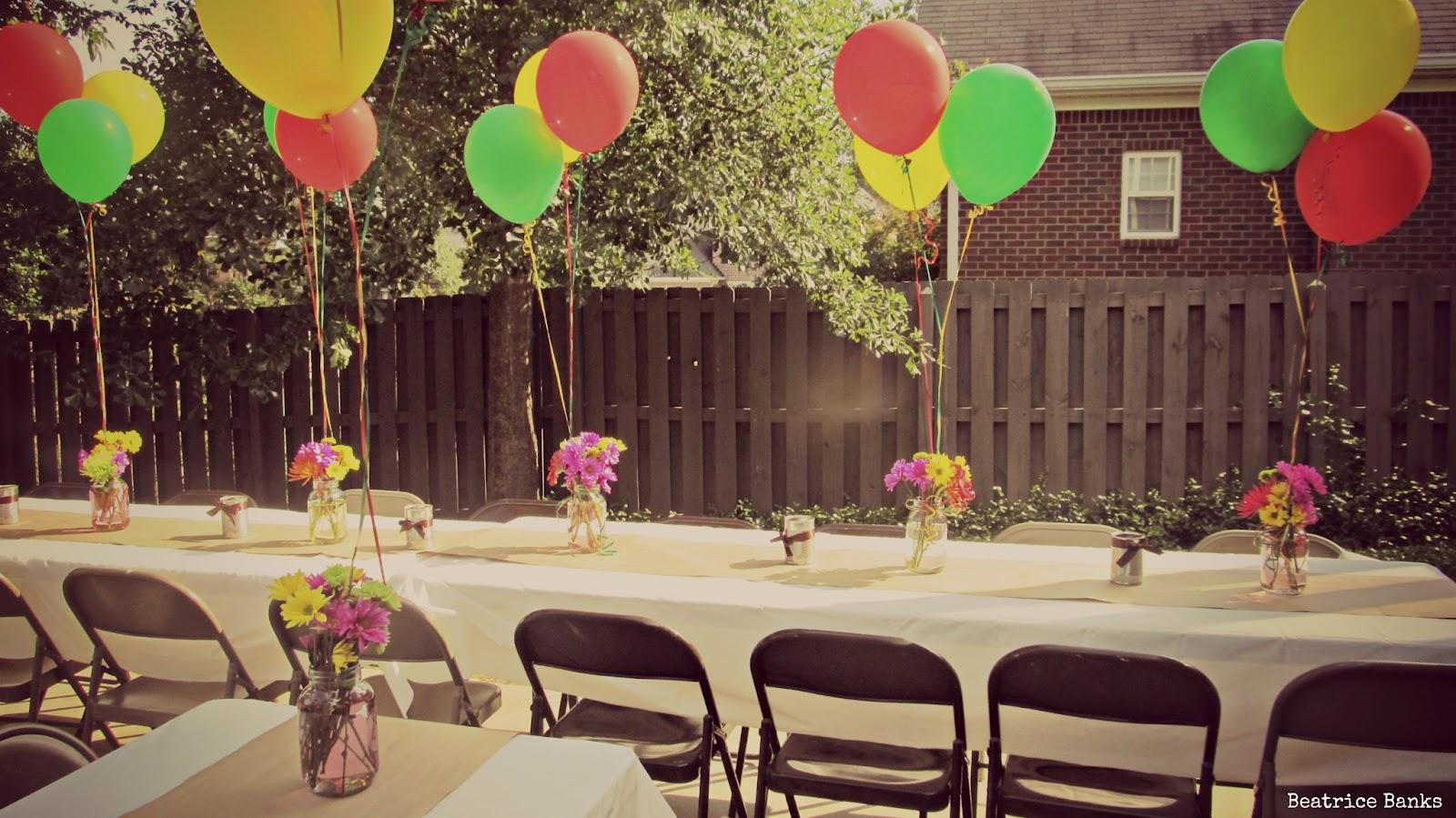 Beatrice Banks: Backyard Party