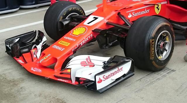 Ferrari SF70H Kimi <a href=http://www.formula1.it//pilota/33/raikkonen>Raikkonen</a> #7 - Foto Albert Fabrega