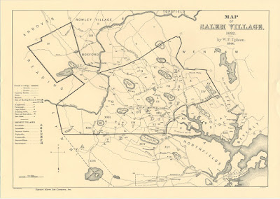 Climbing My Family Tree: Salem Village Map, 1692