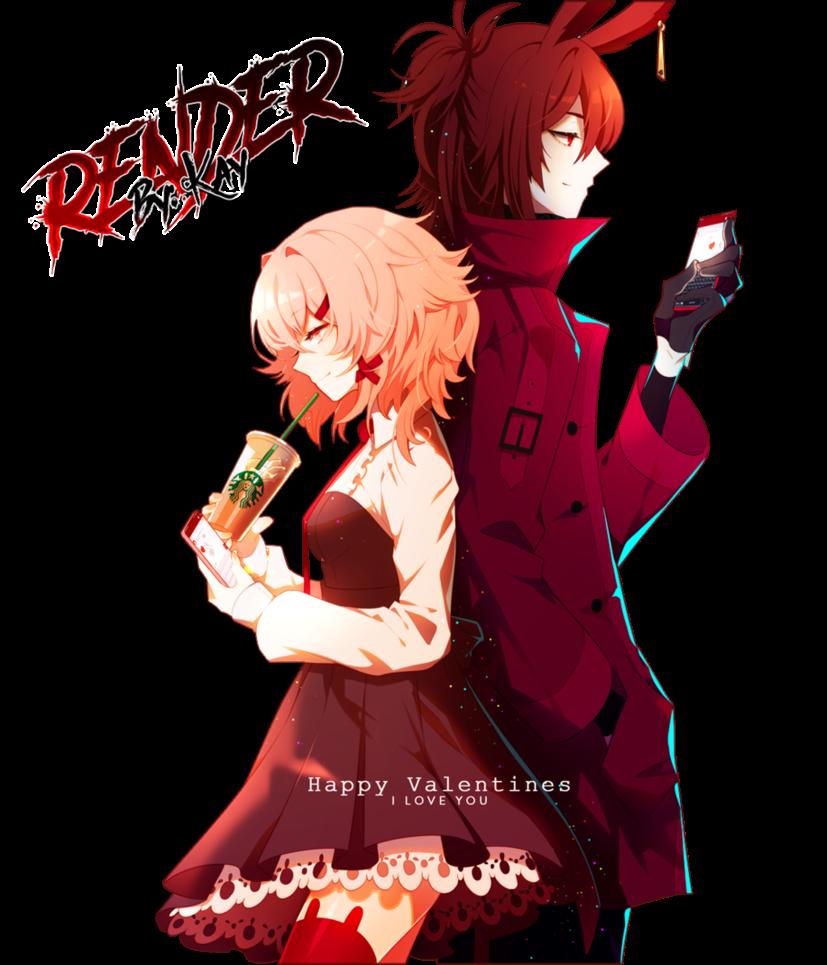 render happy valentines