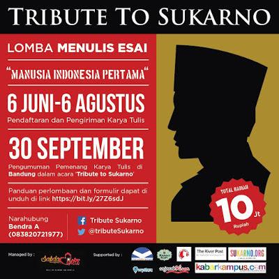 Lomba Esai Tribute To Soekarno