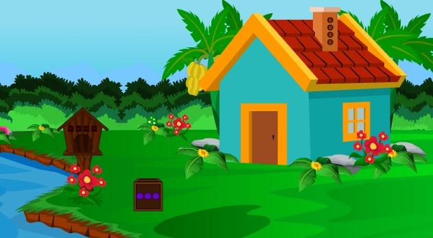 Play EscapeGamesZone Mushroom House Frog Escape