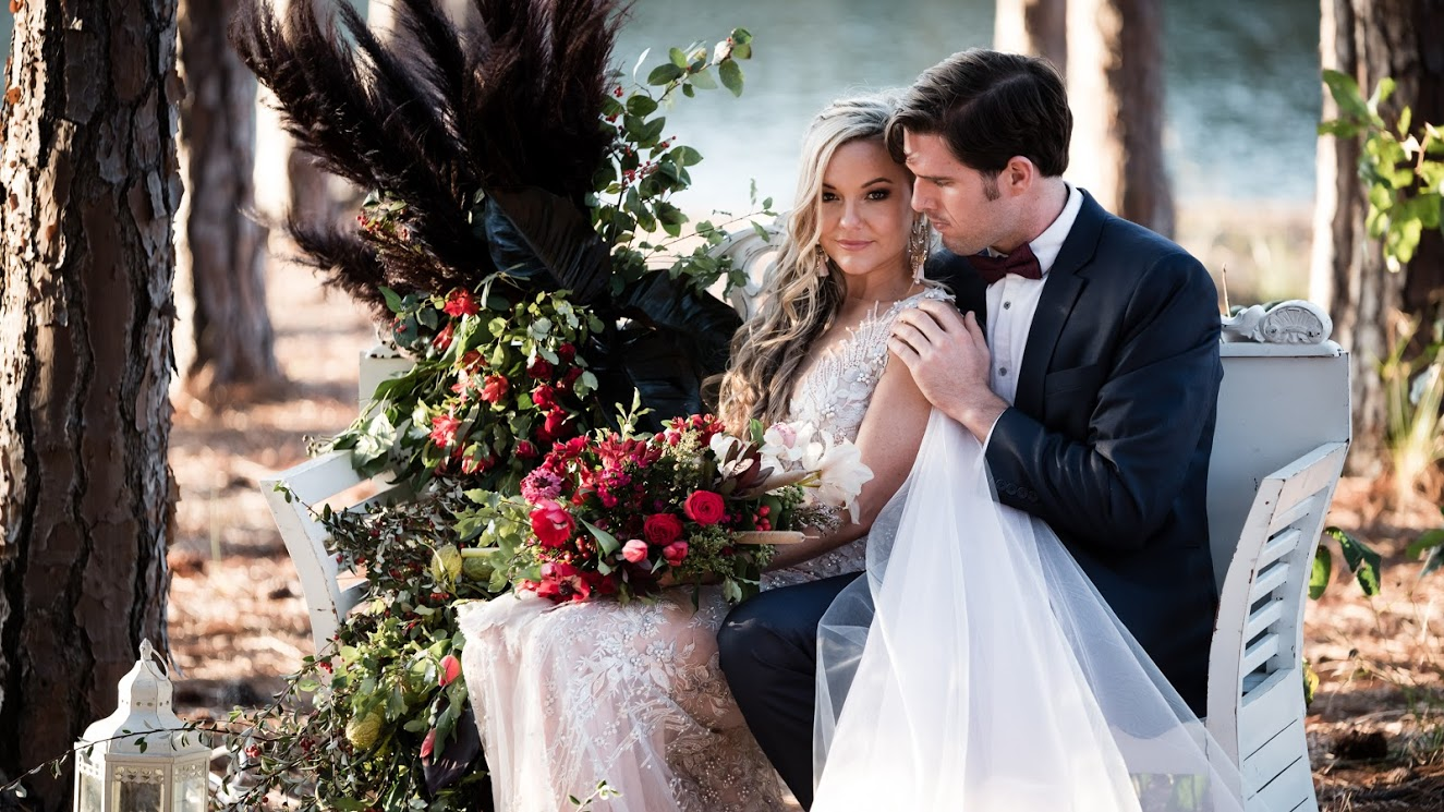 STYLED: ENCHANTED ELOPEMENT | FOREST STYLED WEDDING EDITORIAL GOLD COAST QLD
