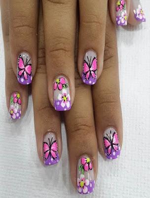decoracion de uñas juveniles tumblr