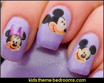 Mickey Mouse nail sticker decals