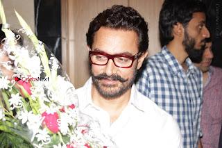 Bollywood Actor Aamir Khan Birthday Party Celetion Stills  0017.JPG