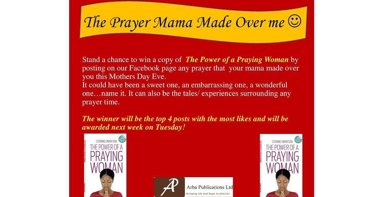 ARBA Publications: The Prayer Mama Made Over Me