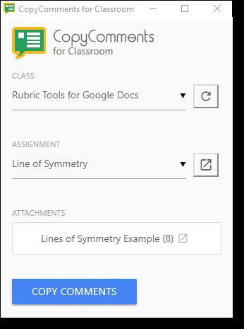 Control Alt Achieve: Copy Comments to Google Classroom Docs