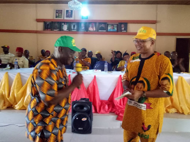 [Photos] APGA Party Leaders in Orumba North Endorse Ikenna Amechi for Anambra South Senatorial Election