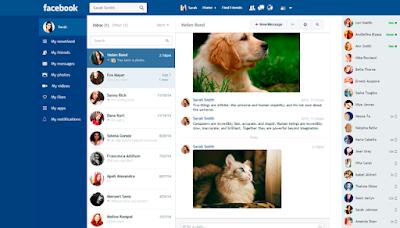 إضافة لجوجل كروم تمكنك من الحصول على  شكل جديد وأنيق للفيسبوك و معرفة من يزور بروفايلك على الفيسبوك بنقرة زر واحدة