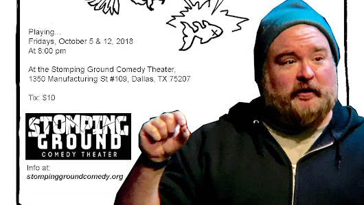 Robert's Eternal Goldfish at Stoming Ground Comedy Theater October 5 and 12