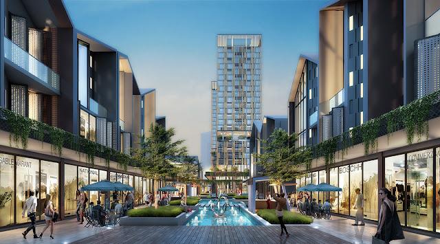 New East merupakan lifestyle center, fasilitas komersil baru dalam kawasan JGC (dok. JGC)