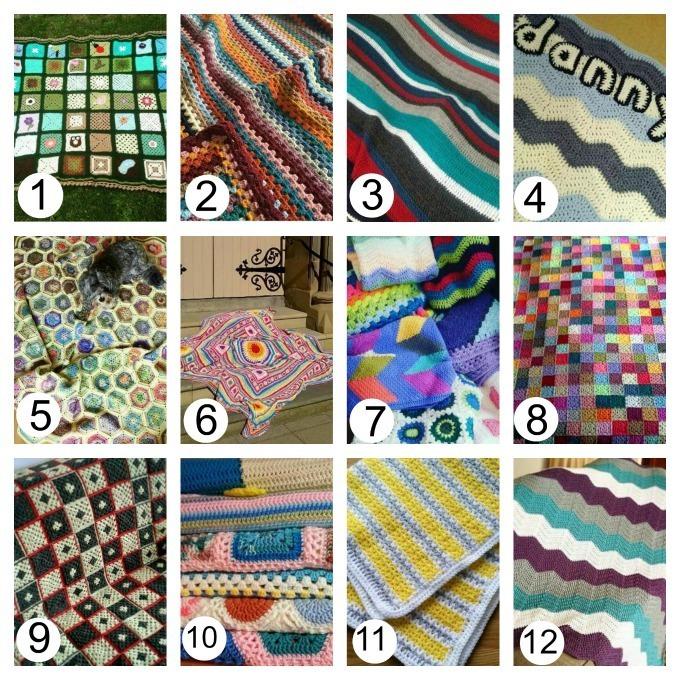 crochet blankets inspiration from instagram