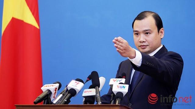 Việt Nam lên tiếng về việc Indonesia dự định khởi kiện Trung Quốc