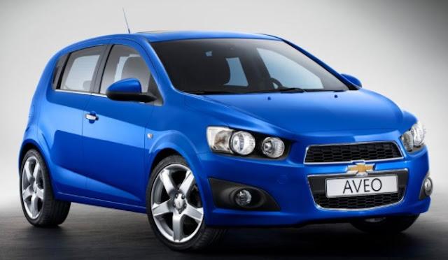 Harga dan Spesifikasi Chevrolet Aveo