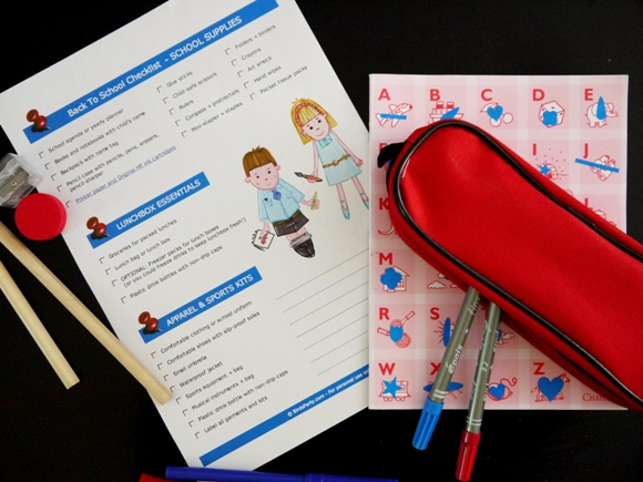 Free Printable Back to School Checklist with HP - BirdsParty.com