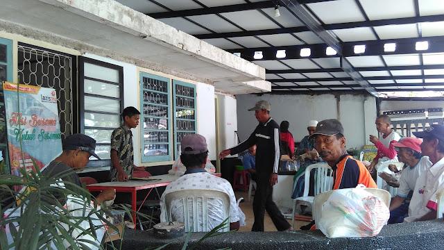 Bulan terakhir pembinaan abang becak Gelombang I oleh Team Lazismu Jember 2