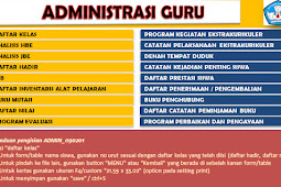 Kumpulan Administrasi Guru Tahun 2018/2019