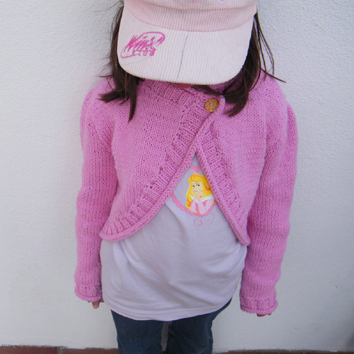 Pippa / Girls' Shrug - Free Pattern
