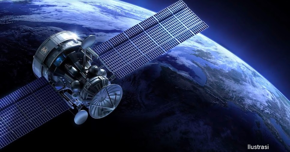 Mengenal Satelit Buatan yang Mengorbit Bumi - Info Astronomy