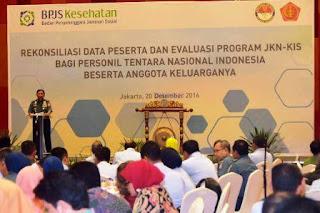 Panglima TNI Harap BPJS Berikan Pelayanan Kesehatan Terbaik