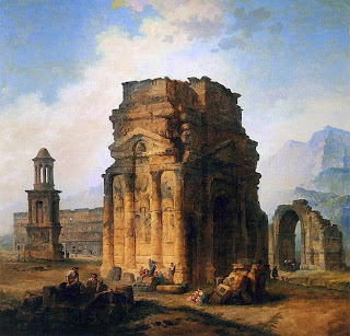 The Arc de Triomphe and the Theatre of Orange, 1787