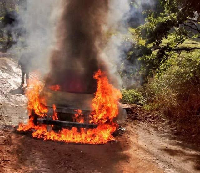 Duas agências bancárias foram assaltadas em Santo Expedito do Sul, na Região Norte do Rio Grande do Sul,