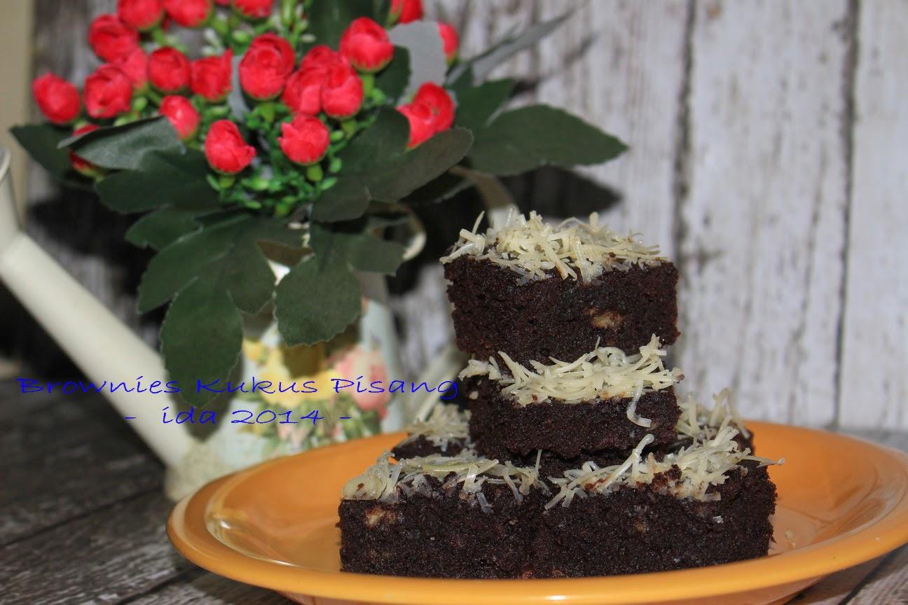 Brownies Kukus Pisang: Dapur Dheadhena: Brownies Kukus Pisang, Simple And Yummy
