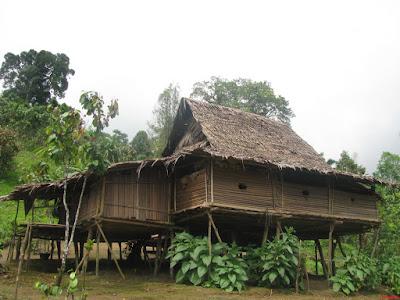 rumah adat pulau seram maluku