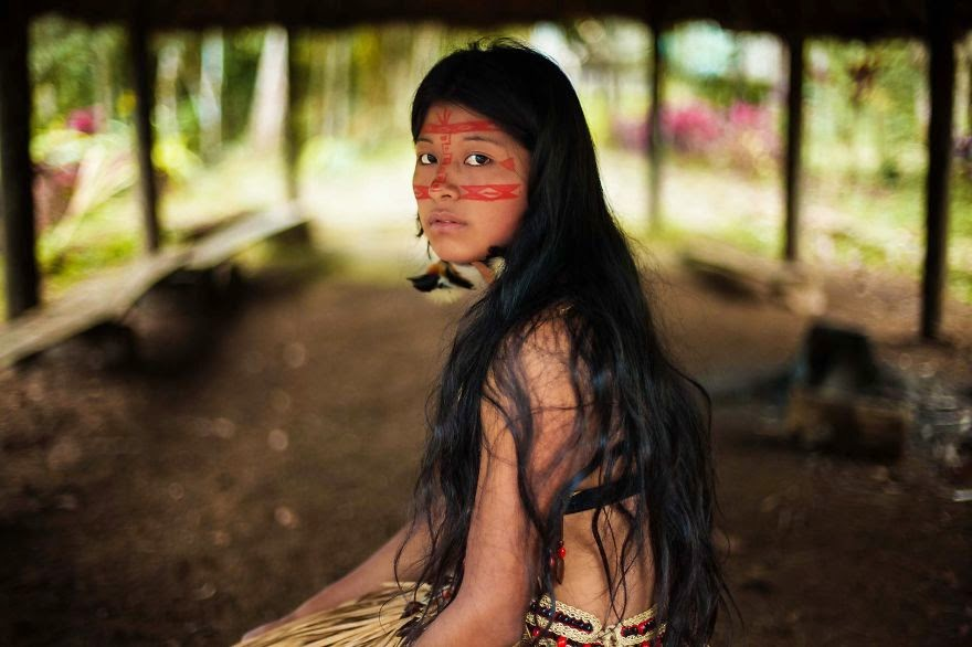 Amazon Rainforest - I Photographed Women From 37 Countries To Show That Beauty Is Everywhere