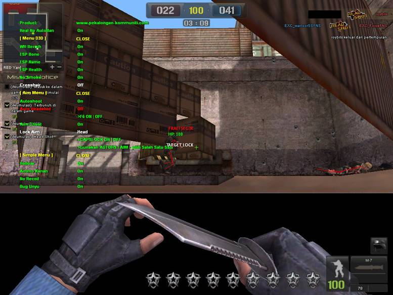 Free download Auto Headshot Point Blank programs - atmanager