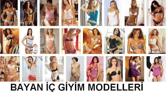bayan iç giyimi modelleri