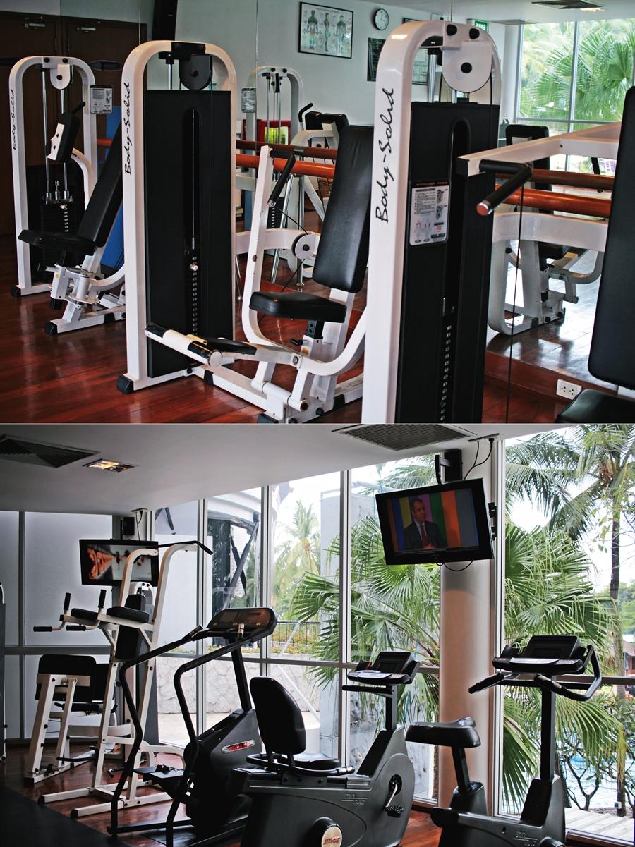 har drock hotel fitness gym